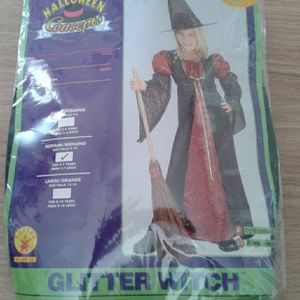 Other - Child glitter witch costeme